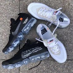 2df55745f6c Artemisyeezy   Off White Nike Air Vapormax in Black and White Fashion  Blogs