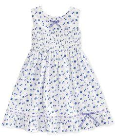 Blueberri Boulevard Little Girls' Blueberry-Print Sundress - Kids - Macy's