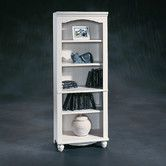 Found it at Wayfair - Harbor View Library in Distressed Antiqued White 160.00