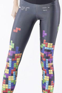 Tetris Leggings on http://www.drlima.net