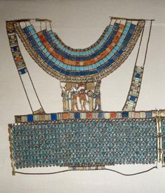 , Gold, Inlay (pieces laid into solid ground),, Insect, Metalwork, Pectoral, Scarab, Sacred Beetle, Tutankhamun (c.1332-1323 BCE)