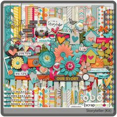 Storyteller full kit freebie from Scrap Orchard