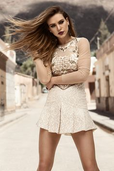 Lace Shorts, Ideias Fashion, Outfits, Dresses, Festive, Women, Fall Winter 2015, Outfit, Gowns