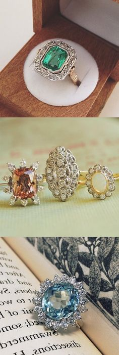 Would you say yes to a one-of-a-kind antique engagement ring?