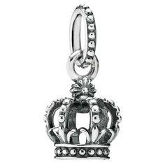 charm tiara de princesa pandora