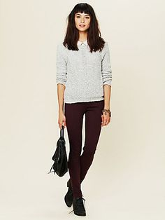 I want one of these Free People sweaters in every color!
