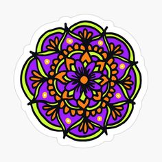 Cute Laptop Stickers, Halloween Stickers, Halloween Coloring, Mandala Design, How To Draw Hands, My Arts, Art Prints, Printed, Awesome