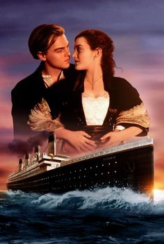 Titanic Italian Poster - Leonardo DiCaprio and Kate Winslet return in this restored re-release of the 1997 hit film directed by James Cameron. Titanic Music, Film Titanic, Titanic Photos, Rms Titanic, James Cameron, Kate Winslet, Jack Dawson, Beau Film, Billy Zane