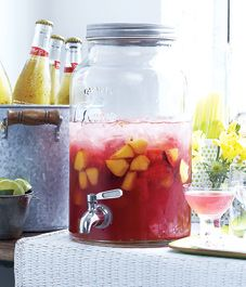pink summer sangria - STYLE AT HOME