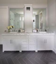 Grey bathroom floor tile ideas grey bathroom floor tiles grey slate tile bathroom full size of . Wood Tile Bathroom Floor, Grey Floor Tiles, Grey Flooring, Gray Floor, Grey Bathrooms, Beautiful Bathrooms, Small Bathroom, Master Bathroom, Bathroom Gray