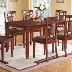 The Acme Furniture Sonata Dining Side Chairs - Set of 2 showcases a unique, geometric back pattern that will make your table all the more intriguing. Counter Height Dining Table, Round Dining Table, Dining Room Table, Dining Set, Lamp Table, Kitchen Dining, Acme Furniture, Dining Room Furniture, Modern Furniture