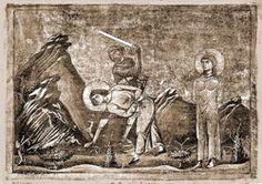 Eulampius and Eulampia - Saints & Angels - Catholic Online Catholic Saints, Roman Catholic, Catholic Online, Roman 1, Roman Emperor, Christianity, Caves, Crowd, Brother