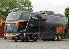 I actually toured on this bus in Brazil during my shows with The Harlem Jubilee Singers Bus Camper, Campers, Cool Trucks, Big Trucks, Star Bus, 4x4, Luxury Bus, Automobile, Expedition Truck