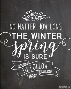 Spring is coming!!