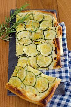 zucchini tart ricotta food styling forward zucchini ricotta tart