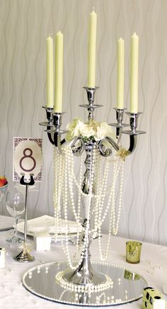 A vintage wedding theme opens up a world of possibilities when it comes to decorations. Here are 7 of the best from The Wedding Mall to get you started… - A vintage wedding theme opens up a world of possibilities when it comes to decor. Great Gatsby Wedding, Gatsby Theme, 1920s Wedding, Trendy Wedding, Our Wedding, Dream Wedding, Roaring 20s Wedding, 1920s Party, Gatsby Party