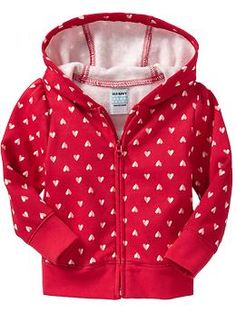 For E - waiting for this to go on sale- Heart-Graphic Hoodies for Toddler | Old Navy