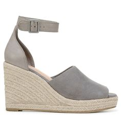 cd6a377709c Coconuts Women s Flamingo Espadrille Wedge Sandals (Grey) Espadrille Wedge