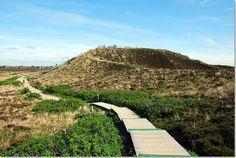 """Die """"Uwe-Düne"""" ist die höchste natürliche Erhebung der gesamten Insel und misst 52,5 Meter. Sie wurde nach dem Keitumer Uwe Jens Lornsen (1793-1838) benannt. Herr Lornsen war Jurist und Freiheitskämpfer, der sich für Menschenrechte und freiheitliches Denken einsetzte. Eine knapp über 100 Stufen zählende Holztreppe führt zur Aussichtsplattform."""