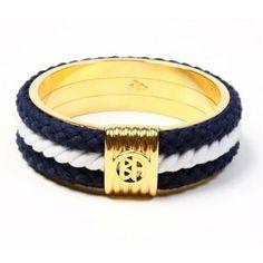 Nautical: An elegant, timeless bangle to celebrate the theme.