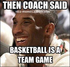 Only Kobe.. Lol