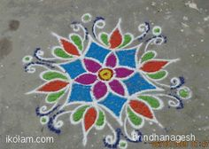 Rangoli Designs Latest, Rangoli Border Designs, Latest Rangoli, Rangoli Designs Images, Rangoli Designs With Dots, Rangoli Designs Diwali, Kolam Rangoli, Flower Rangoli, Rangoli With Dots