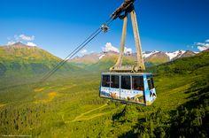 Alyeska Tram $25/pp 60.970192,-149.096652 (1hr SE of Anchorage)