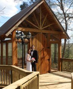 Great Smoky Mountain Wedding Chapel