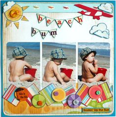 Beach Bum. Don't think I will use make  pics but I do have some nice Hawaii pics for this layout.