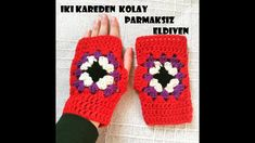Crochet Lace Scarf, Crochet Gloves Pattern, Crochet Granny, Crochet Stitches, Crochet Patterns, Crochet Wrist Warmers, Hand Gloves, Fingerless Mitts, Crochet Videos