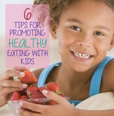 Our #LearningToolkit #parents blog has 6 ways to promote healthy eating with kids. Click for details.