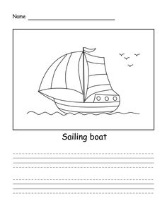 How to draw Sailing Sailing Boat, Yacht Club, Easy Drawings, Words, Brand Management, Impressionism, Sailboats, Horse