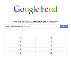 Get a good laugh at how Google's autocomplete query technology autocompletes 4 common health questions.