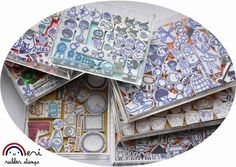 incredible collection of handmade stamps. Tutorial for making your own!