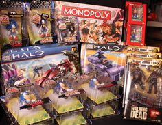 Sonic, and Halo, and Walking Dead... OH MY!  http://www.warpzoneonline.com