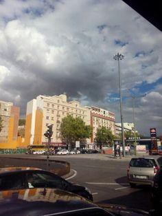 Atocha, junto a la estación de Renfe