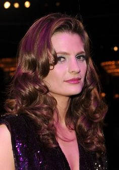 Stana Katic (Kate Beckett from ABC'S Castle)