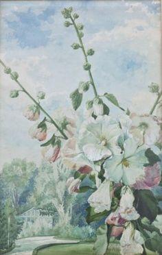 Bauernrosen/Farmers Roses, Monogrammierender Maler G.