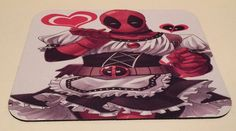 DEADPOOL IN A MAID DRESS Funny Large  Anti Slip PC Gamer Pictorial Mouse Pad #PHATGraphix