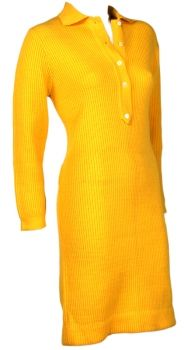 60's Evan Picone sweater dress