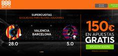 el forero jrvm y todos los bonos de deportes: 888sport bienvenida 150 euros + supercuota 28 o 5 ...
