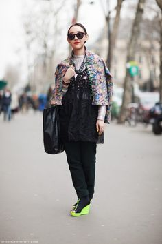 Zoe in Paris from Stockholm Streetstyle