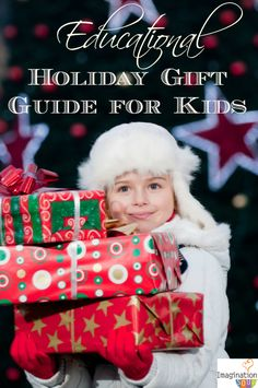 Educational & Learning Holiday Gifts for Kids - HUGE list!!