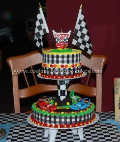 Easy Race Car Birthday Cakes | Cars Cake Design