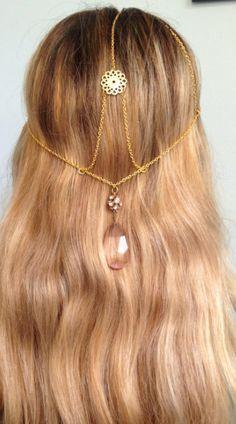 GREEK GODDESS Cranial Crown $26 https://www.etsy.com/listing/98720314/greek-goddess-cranial-crown