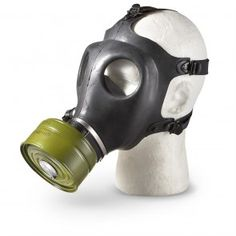 Civilian Gas Mask (Adult) With Filter