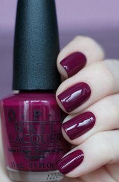 Polish Nail Colors for Dark Skin OPI Casino Royale 2016