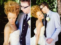Cool, Quirky, Whimsical And Woodsy Wedding - Bridal Musings Wedding Blog
