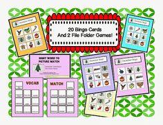 December Vocabulary Bundle!