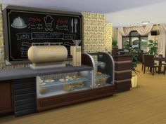 Welcome to Lawndale  Restaurant where your sims can enjoy Lunch or Dinner in a beautiful decorated Restaurant.  Hope your sims have a great time.  Found in TSR Category 'Sims 4 Community Lots'